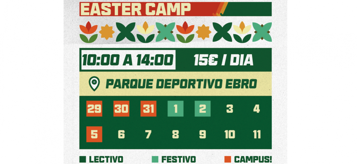 ¡¡¡Primer Honig Hockey Easter Camp!!!