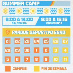 ¡Abierta la Inscripción para el Campus de Verano 2021!